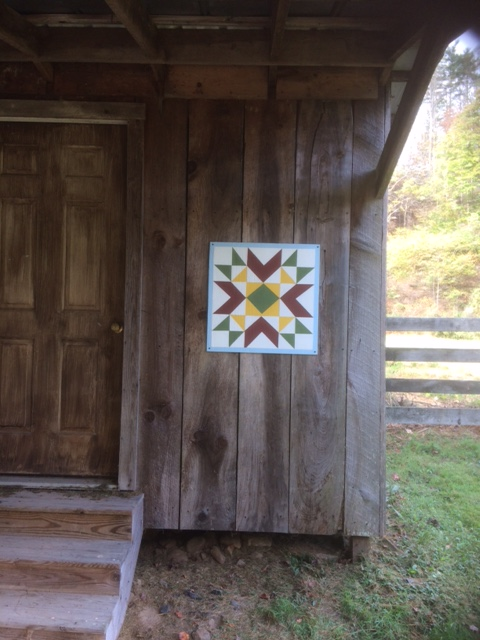 Barn Quilt for our shed