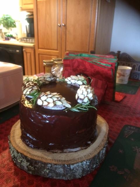 pinecone cake 2